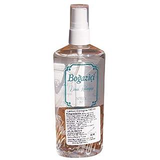 Bogazici - Türk. eau de cologne mit Limonen Duft Spray - LImon Kolonyasi 80% Alk. (150ml)
