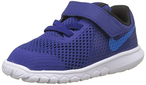 Nike Flex Experience 5 (TDV), Chaussons Mixte Bébé, Bleu (Deep Royal Blue/Photo Blue/Black/White 400), 19.5 EU