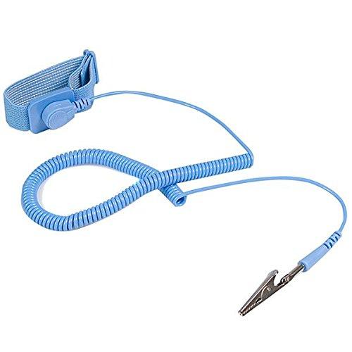 StarTech.com Bracelet anti-statique avec câble de mise à la terre et protection contre surtensions / ESD (DES)