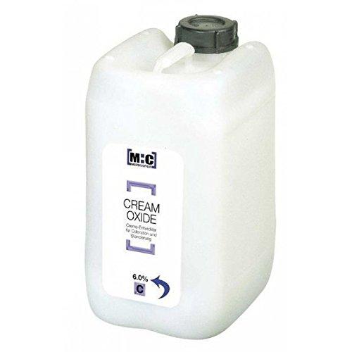Comair M:C Cream Oxide 6% 5000 ml Creme-Entwickler Creme-Entwickler für die pflegende, schonende Coloration & Blondierung -