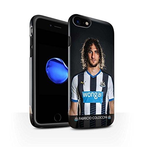 Officiel Newcastle United FC Coque / Brillant Robuste Antichoc Etui pour Apple iPhone 7 / Shelvey Design / NUFC Joueur Football 15/16 Collection Coloccini