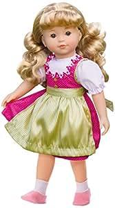 Bayer Design - 94652 - Poupée Fille Eva À Les Cheveux Blonde - 46 Cm