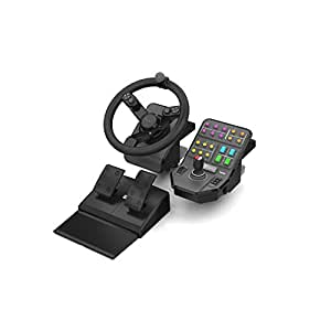 Saitek Landwirtschafts-Simulator Lenkrad, Pedale & Fahrzeugsteuerung für PC (exkl. bei Amazon)