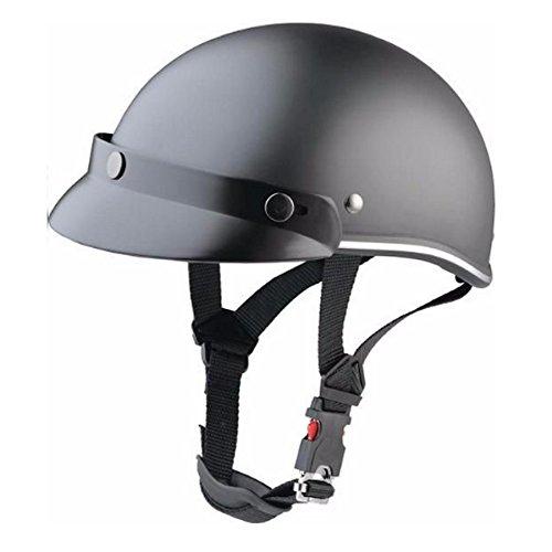 Kopfhörer Biker schwarz matt für Shows und Veranstaltungen Motorrad Custom