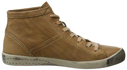 Softinos Isleen, dames haute sneaker top Marron - Marron