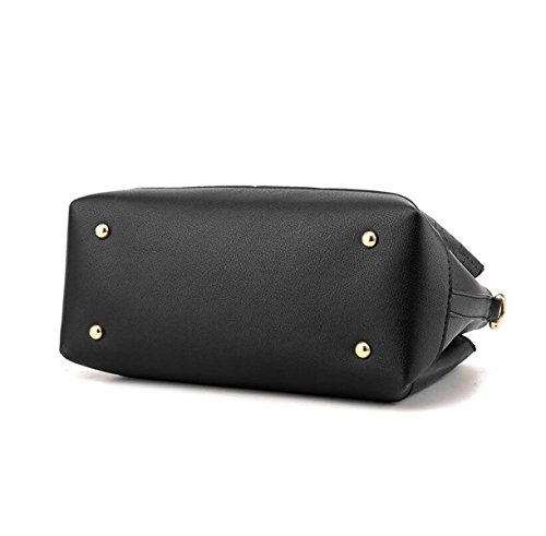 Damen Handtasche Einfache Wilde Schultertasche Messenger Bag Grey