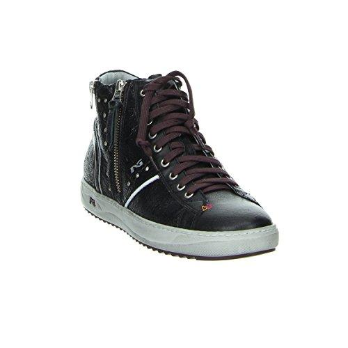 Nero Giardini OLD IRON NERO Sneaker Schwarz Rot