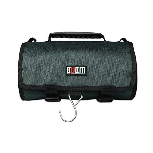Preisvergleich Produktbild BUBM Kopfhörer Carring Case für GoPro hero4Black, hero4Silber, und Hero Session/für GoPro Kamera und Ihren Zubehör/Reisetasche - weiß blau