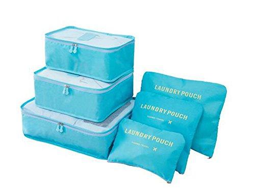 Lutanky , Kofferorganizer blau himmelblau/blau