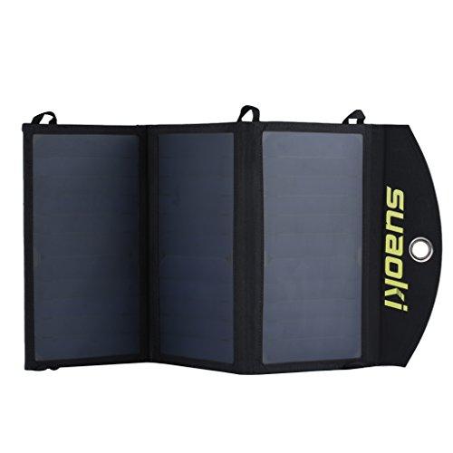 Suaoki 20W Cargador Panel Solar Placa...