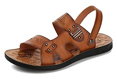 Respeedime Herren Peep-Toe, Diamond Brown - Größe: 38 EU