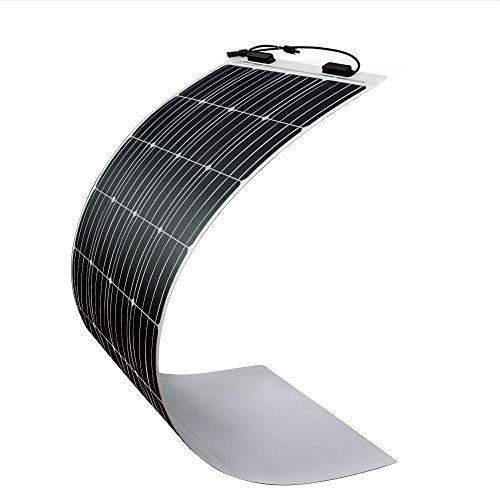 Renogy 160W 12V Solarmodul ultraleicht Solarenergie Stromerzeugung für 12V Batterieladen Camping RV Caravan Wohnmobil Boot Garten