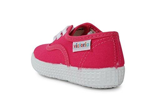 Victoria Inglesa Lona Unisex - Erwachsene Sneaker Fresa