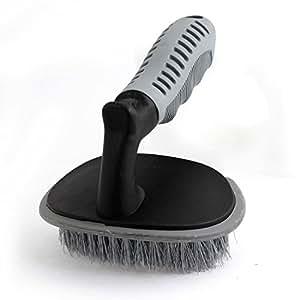 Sourcingmap voiture tapis chaise en plastique Grip Brosse de nettoyage pour aspirateur, Noir/Gris