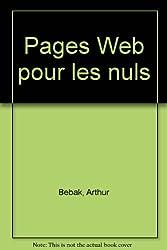 Page Web pour les nuls