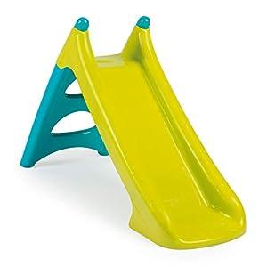 Smoby 310281-Tobogán pequeño XS Verde (2 años), Color Azul (310281)