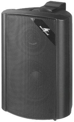 Monacor MKS-34/SW 30W Negro altavoz - Altavoces (30 W, 45 W, 80-20000 Hz, 4 Ω, 87 dB, Negro)