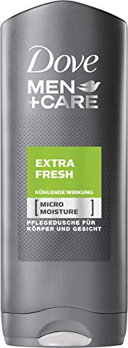DOVE Men + Care Extra Fresh Duschgel, 6er Pack (6 x 250 ml)