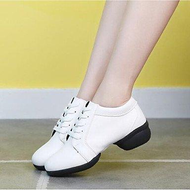 Wuyulunbi@ Donne's Dance Sneakers Split Sole Sneaker Outdoor tacco basso Rosso Nero Bianco 1 US5 / EU35 / UK3 / CN34