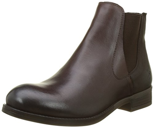 FLY London Alls076fly, Bottes Chelsea Femme Marron (Dk. Brown/chocolate)