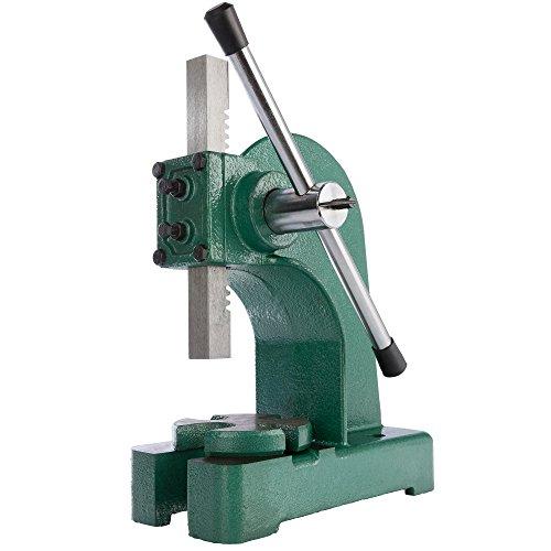 Drehdornpresse Stanze Stanzer Presse Werkstattpresse Handhebelpresse 1 T Stanzapparat