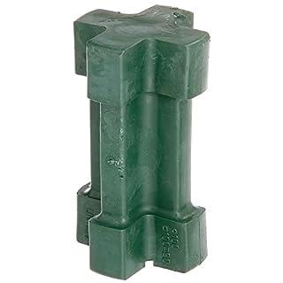 GAH-Alberts 211240 Einschlag-Werkzeug - Kunststoff, grün, für Einschlag-Bodenhülsen 90 x 90 mm, 100 x 100 mm und Ø100 mm