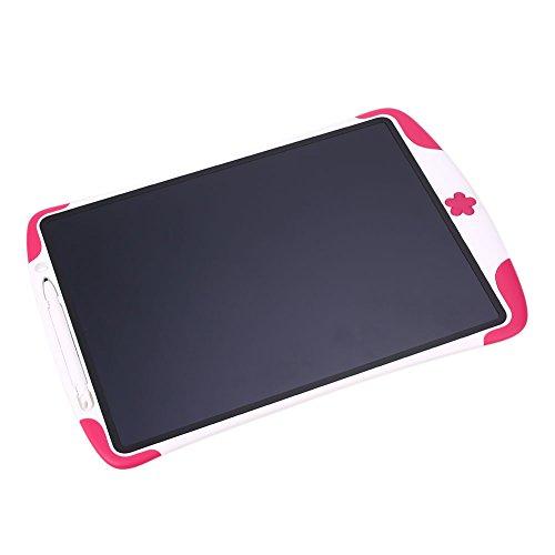 Preisvergleich Produktbild Springdoit 12-Zoll-Tablet-Malerei Bord Drucken Notizblock LCD Premium mit Stift Lehramt - rot + weiß