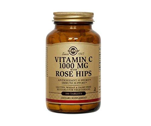 Solgar Rose Vita C Magnum Integratore Alimentare Multivitaminico - 100 Tavolette