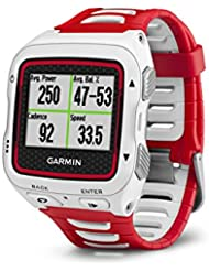 Garmin Forerunner 920XT GPS Multisport Watch with Running Dynamics, Connected Features and Heart Rate Monitor - White/Red