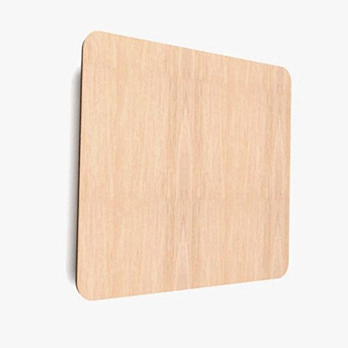 10x Holzeckige blank Form Holz Bemalen Basteln Dekoration Untertasse