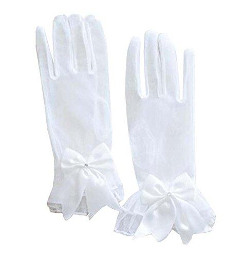 Frauen-Abend-Partei-Spitze-Finger-Handschuhe (kurz) Handschuhe für Hochzeits-Abschlussball-Partei, A1