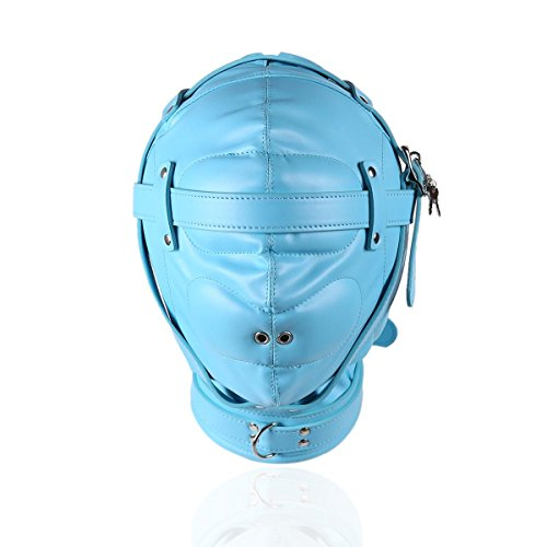 PJOS8E Mund Gimp Kostüm Lederhaube All-Inclusive Schwamm Enge Perücke Nase weibliche Ausrüstung (Gimps Kostüm)