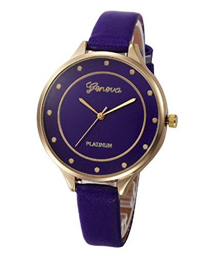Geneva Platinum Analog Blue Dial Women & Girls Watch – GP-315 image - Kerala Online Shopping