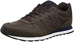 new balance pelle marrone uomo