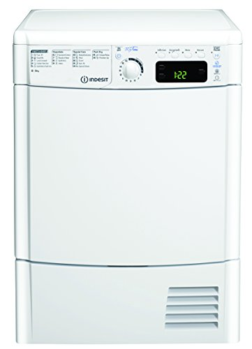 Indesit EDCE85BTM Freestanding B Rated Condenser Tumble Dryer - White