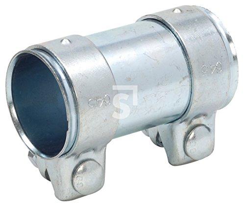 Schössmetall Rohrverbinder Abgasanlage universal 61 X 65 X 125 Stahl verzinkt 1 Stück