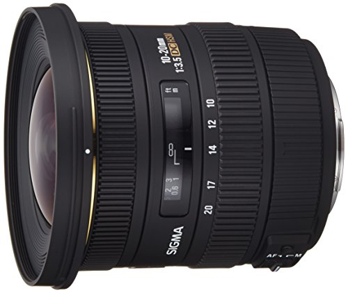 Sigma Objectif 10-20 mm F3,5 EX DC HSM - Monture Sony