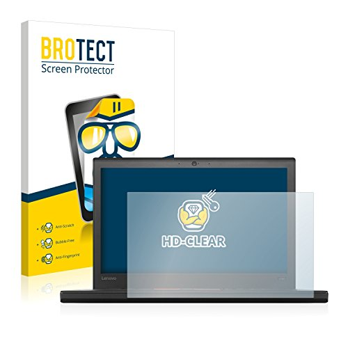 BROTECT Schutzfolie kompatibel mit Lenovo ThinkPad X260 [2er Pack] klare Bildschirmschutz-Folie