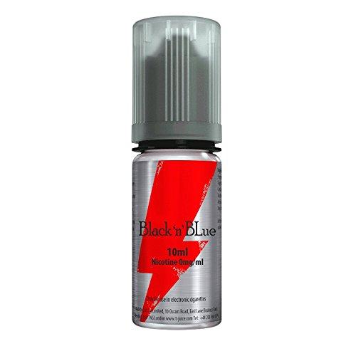 (T-Juice Black 'n' Blue tjuice 50% VG 50% PG 0 MG 10 ML fruit menthol)