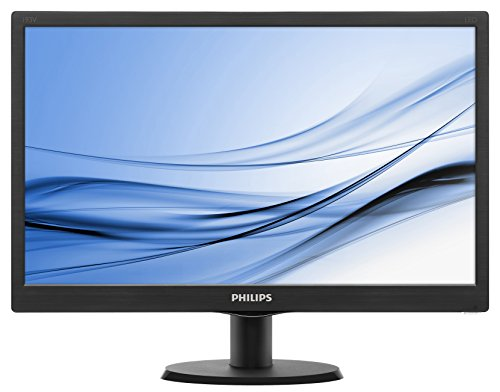 Philips Monitor, 18.5 Pollici, 16:9, 1366x768, Nero