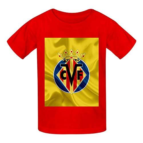 Camisetas Infantiles algodón Logotipo Villarreal