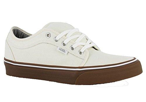 Herren Skateschuh Vans Chukka Low Skate Shoes White/Gum