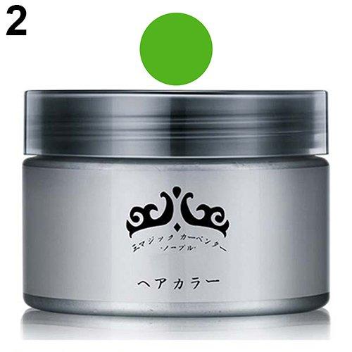 POPFEEL Unisex Professional Easy Modeling Temporary Dye DIY Hair Color Wax Hair Cream 09WG