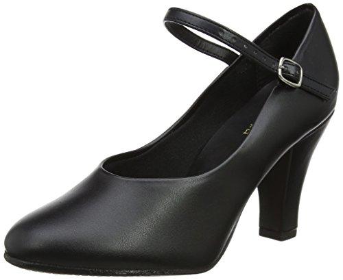 So Danca Damen Ch53 Tanzschuhe-Step, Schwarz (Black), 36 EU