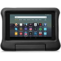 Kid-Proof Case for Fire 7 Tablet   Compatible with 9th-Generation Tablet (2019 release), Black