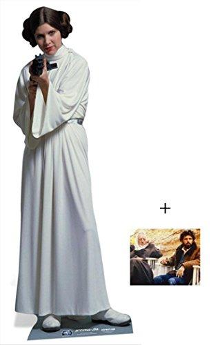 Princess Leia Organa von Star Wars Lifesize Lebensgrosse Pappaufsteller mit 25cm x 20cm foto