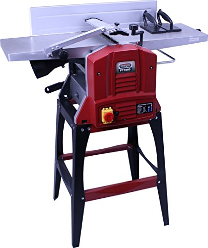 "Lumberjack PT1000 254mm Planer Thicknesser 10""X 5"" with Legstand 230V"