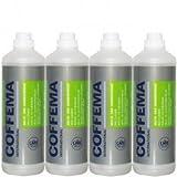 Coffema Spezial-Reiniger für Milch- und Sahnegeräte Sparpaket 5010 ? 4 x 1 Liter