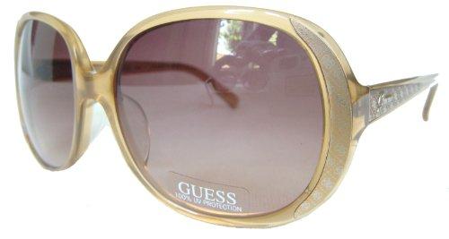 GUESS Damen Sonnenbrille & GRATIS Fall GU 7117 BE-34