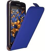 mumbi Flip Case für Samsung Galaxy S5 / S5 Neo Tasche blau